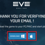 EVE Online Pobranie Klienta