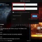 EVE Online Logowanie
