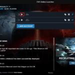 EVE Online Uruchamianie