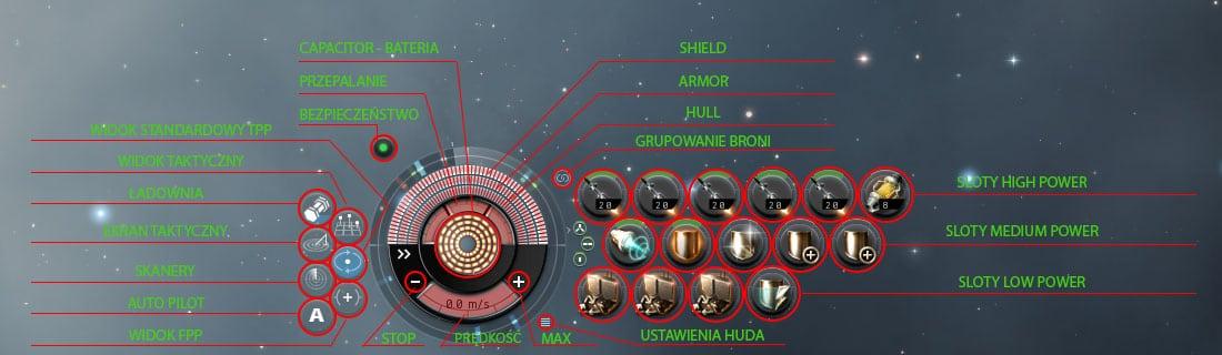 EVE Online Układ w Przestrzeni